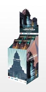 Présentoir cartonné (PLV Dargaud) pour la parution de l'ouvrage