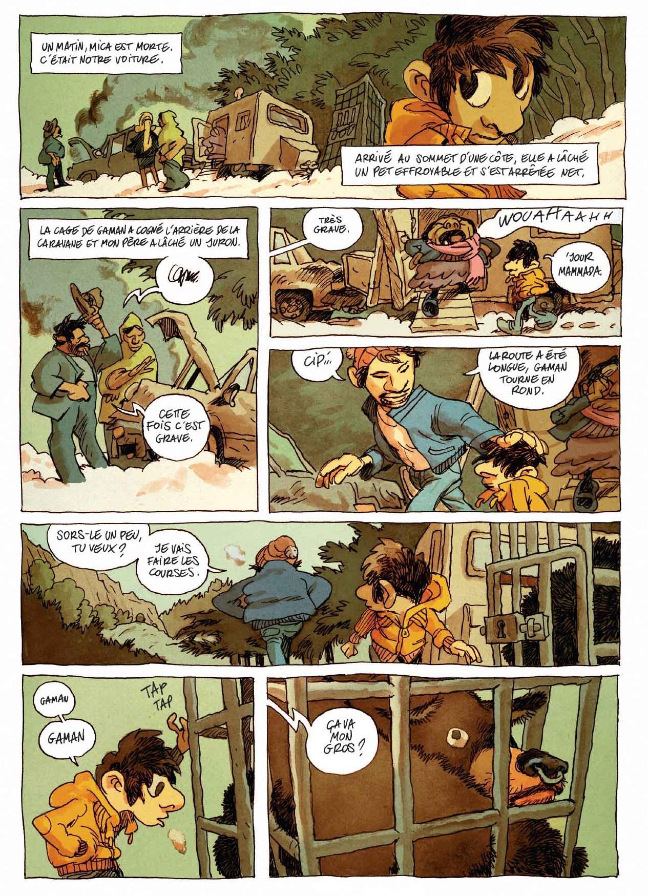 Le fils de l'ursari page 10