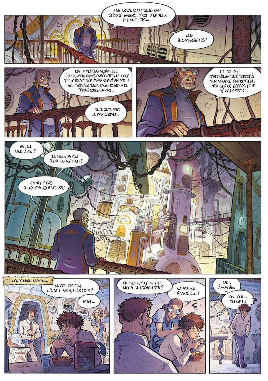 Les rescapés d'Eden page 6