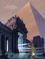 """Couverture du dossier de presse du """"Dernier pharaon"""" (Dargaud - 2019)"""