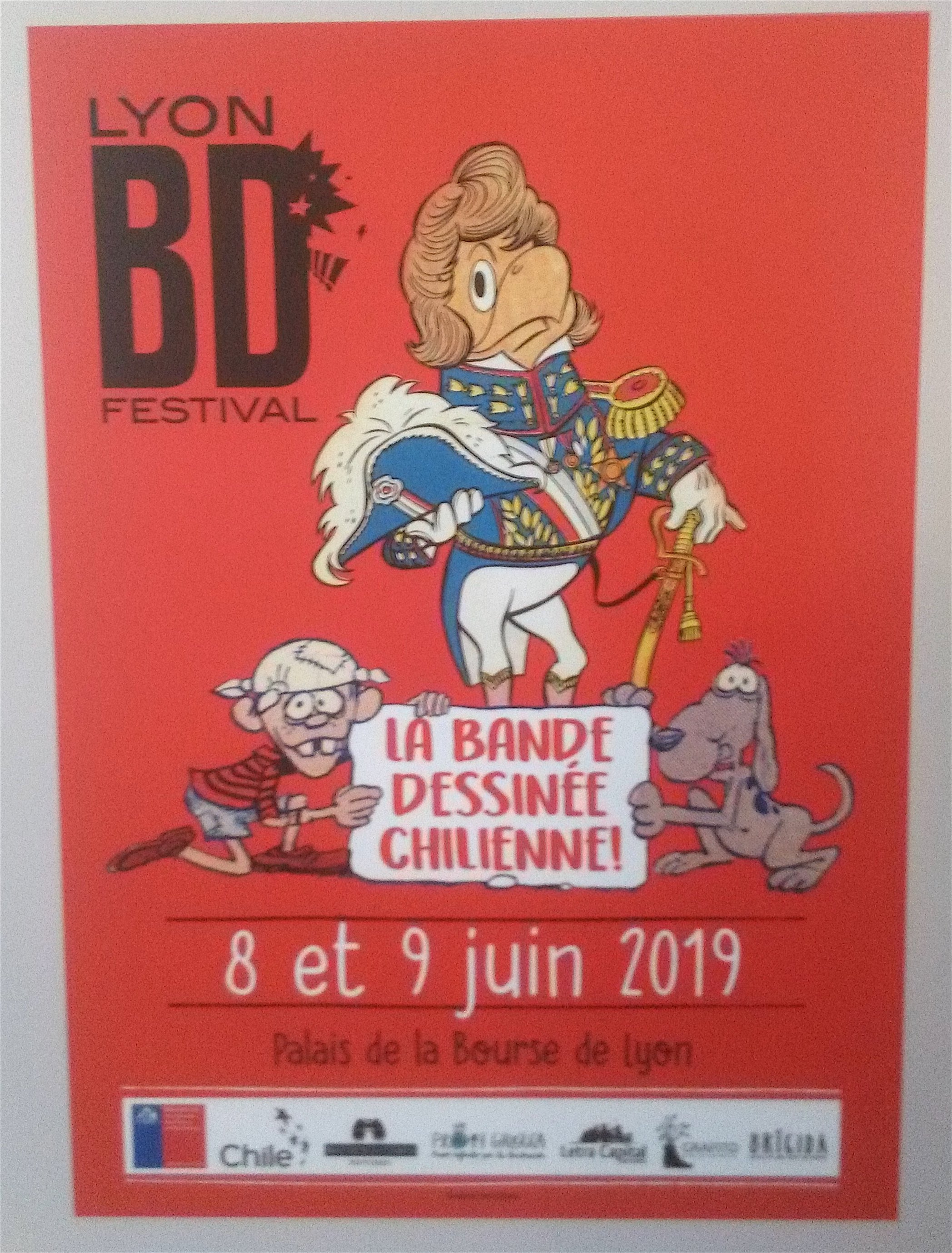 BD chilienne affiche
