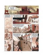 La place du récit dans l'histoire (extrait du T2, planche 17 - Dargaud 1994 - 2019)