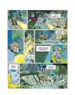Un certain rapport à la nature et au mystère (extrait du T3,  planche 5 - Dargaud 1994 - 2019)