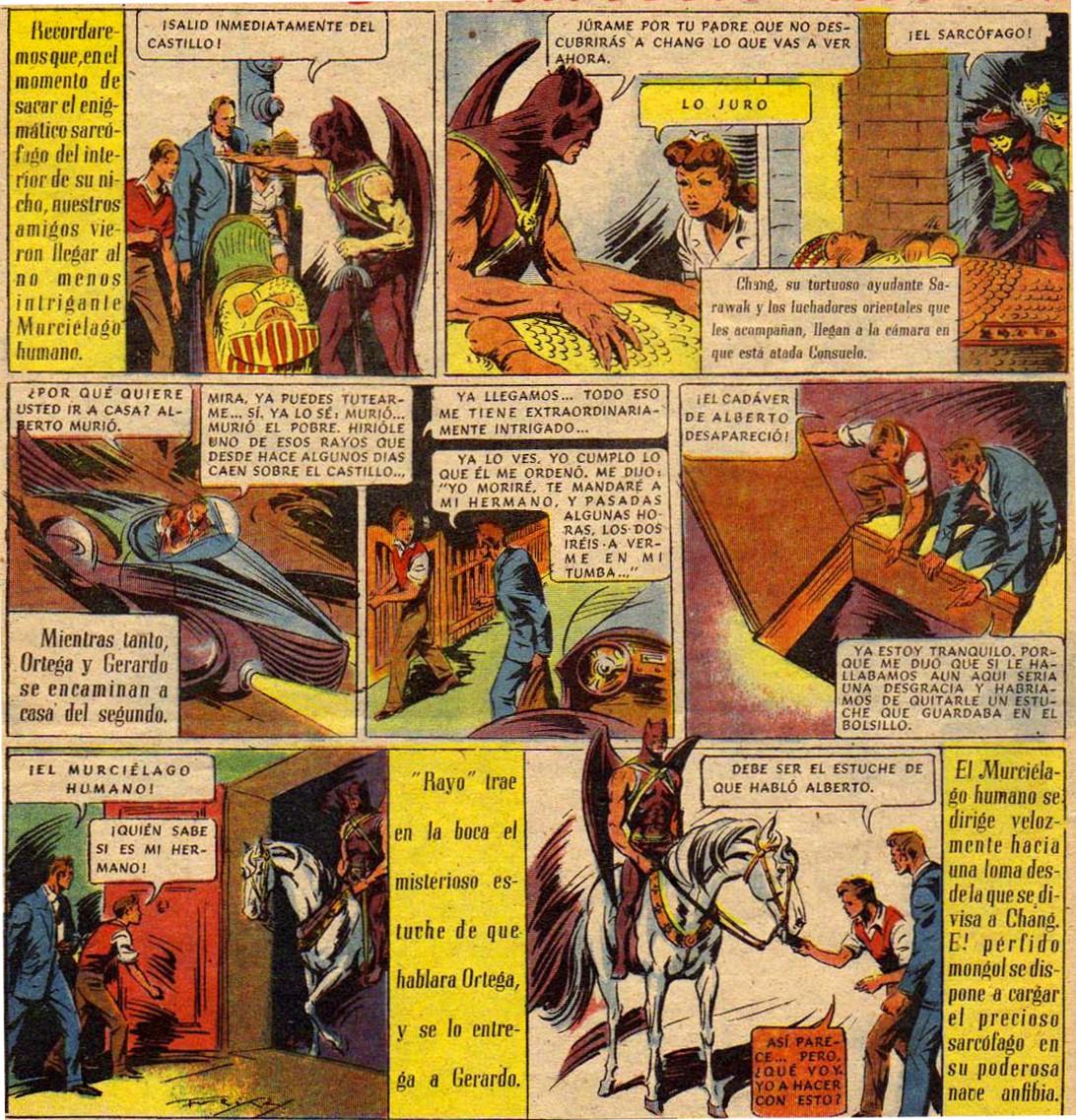 « El Misterio del Murciélago Humano » par Emilio Freixas et José María Canellas Casals.