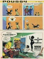 Encart humoristique annonçant la série, paru dans Spirou n° 1662 le 19 février 1970).