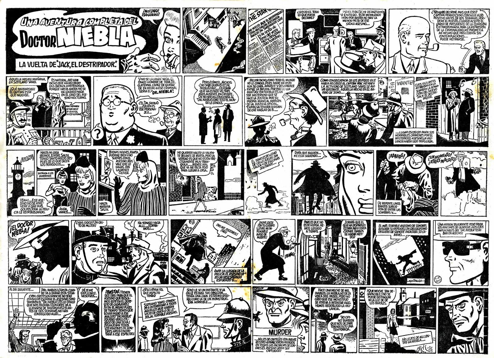 « Aventuras del Doctor Niebla » par Francisco Hidalgo et Douglas L. Templewood.