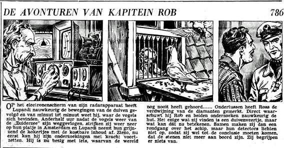 « De Avonturen van Kapitein Rob » par Pieter Kuhn et Evert Werkman.