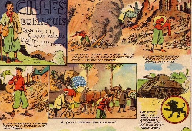 « Gilles du maquis » par Joseph Porphyre Pinchon et Cloval.