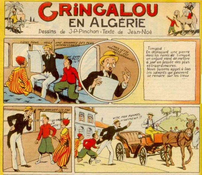 « Les Aventures de Gringalou » par Joseph Porphyre Pinchon et P. Jean-Noé.
