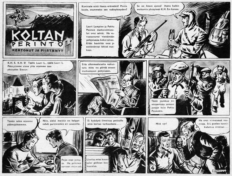 « Koltan perintö » par Ami Hauhio.