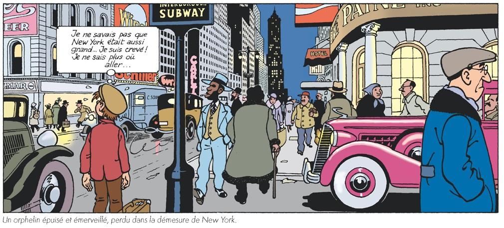 Nino découvre New-York