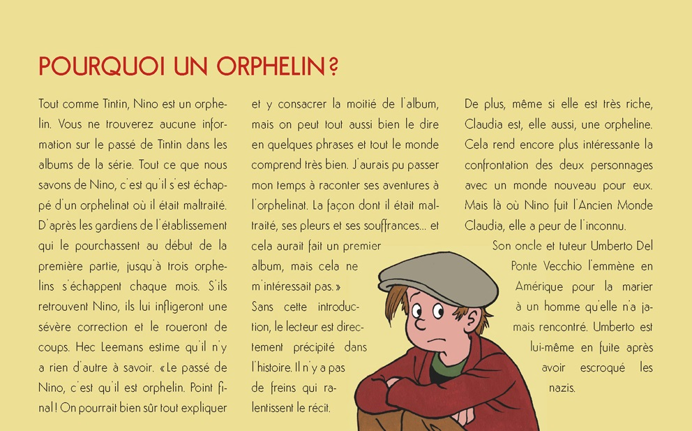 Pourquoi un orphelin ?
