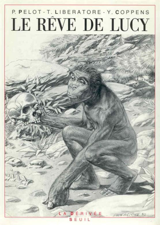"""Couverture pour """"Le Rêve de Lucy"""" (HS du Seuil, 1990)"""