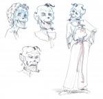 Rough pour la momie, un personnage important de cette intrigue.
