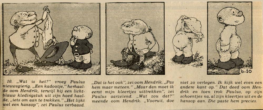 « Paulus de boskabouter » par Jean Dulieu.