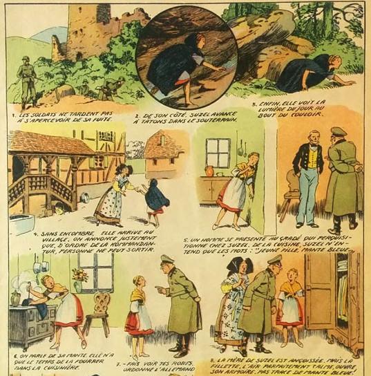 « Suzel la petite Alsacienne » par Joseph Porphyre Pinchon.