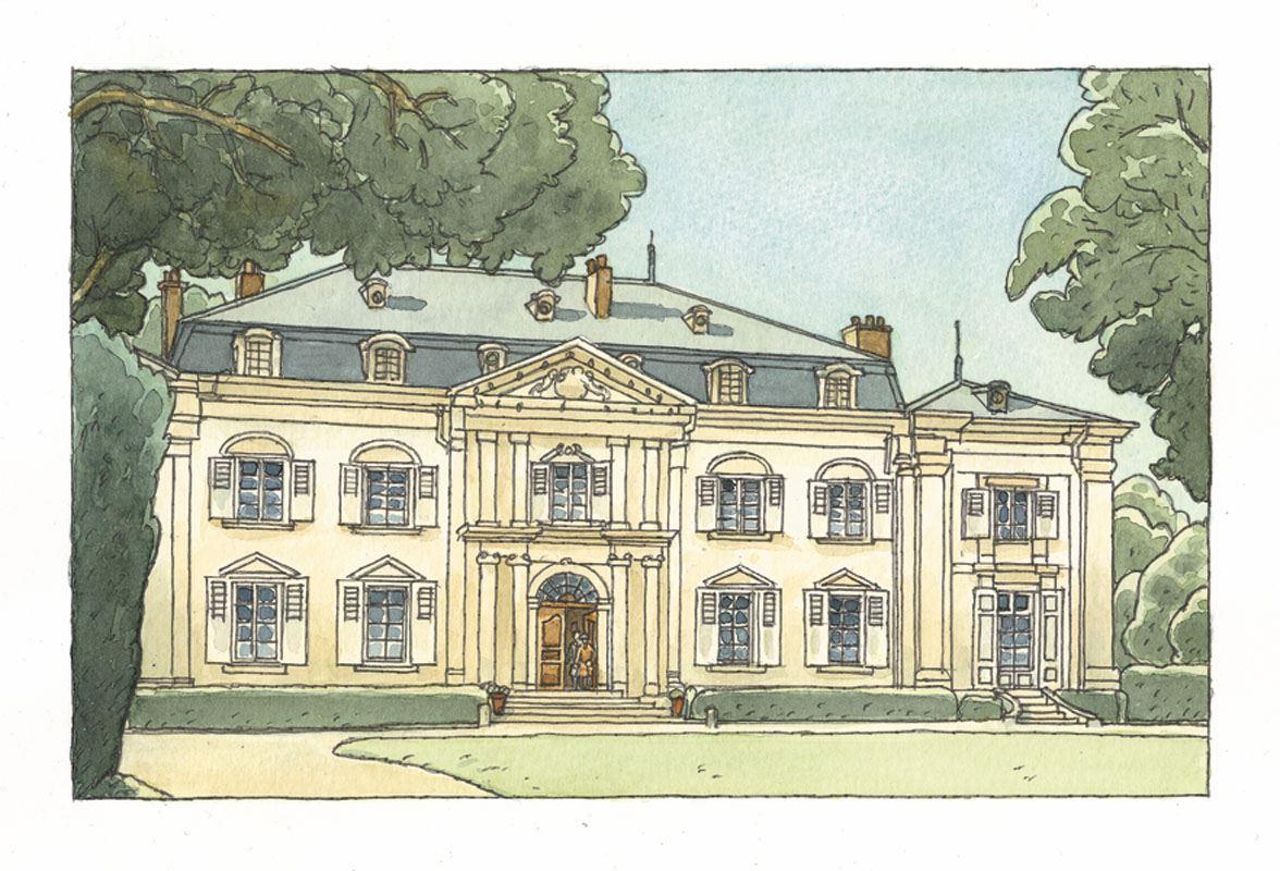 Le château de Ferney (Casterman, 2019)