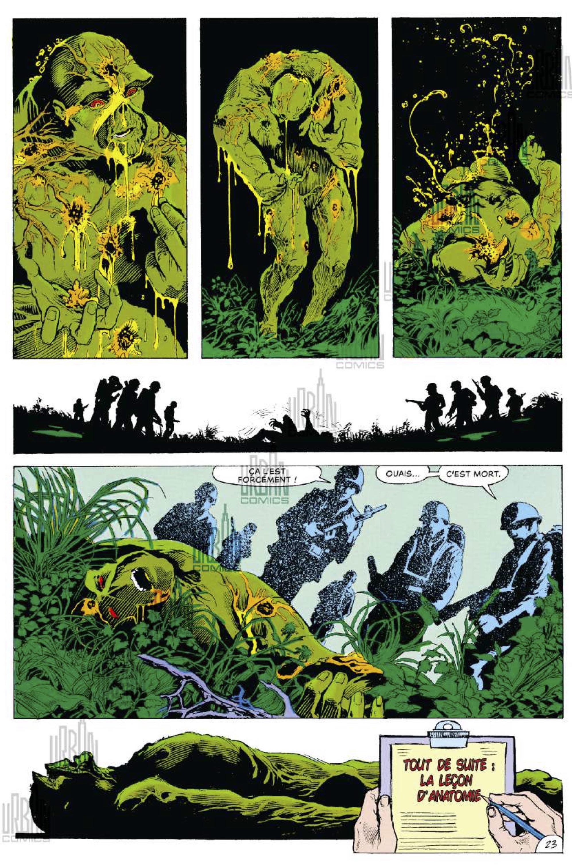 Alan Moore presente Swamp Thing T1-38