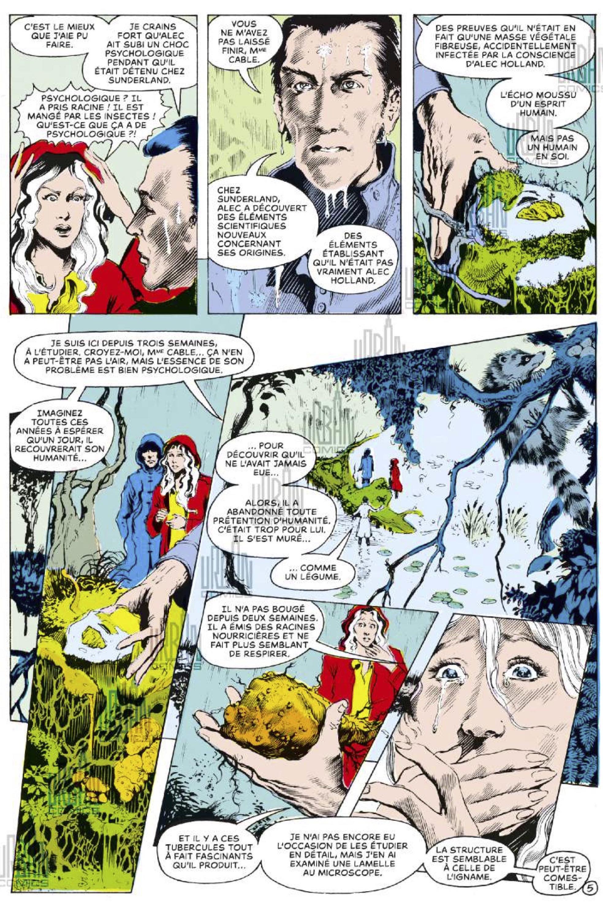 Alan Moore presente Swamp Thing T1-69