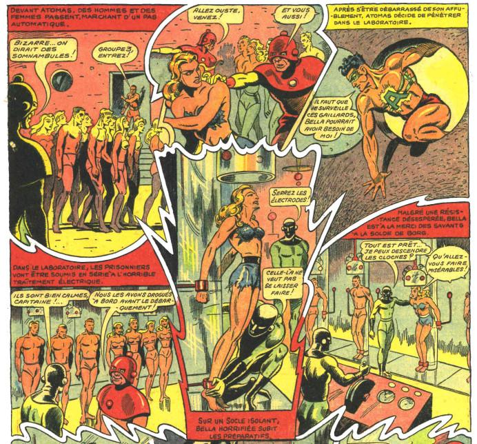 « Atomas » par René Pellos et Robert Charroux.
