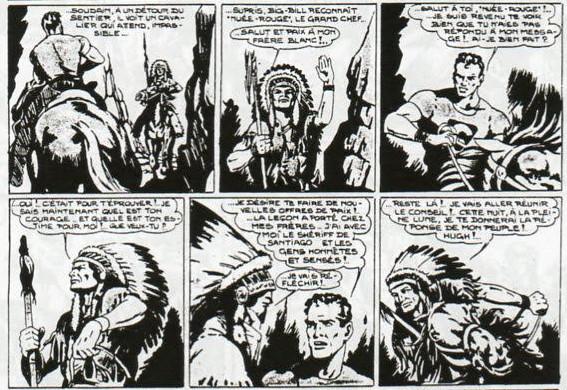« Big-Bill le chasseur » par Chott et J-K Melwyn-Nash.