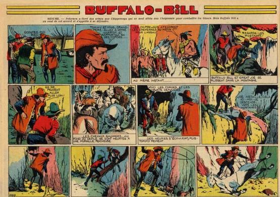 « Buffalo Bill » par René Giffey et Maurice Limat.