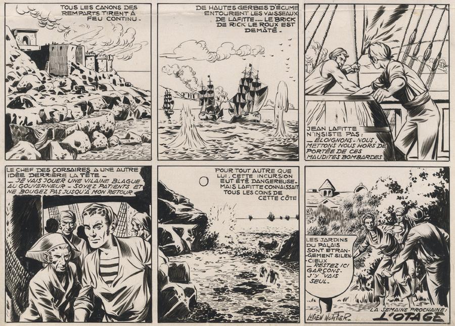« Capitaine Cormoran » par Lucien Nortier et Jean Ollivier.