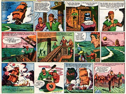 « Capitaine Tornade » par Claude-Henri et Janine Jacquemond.