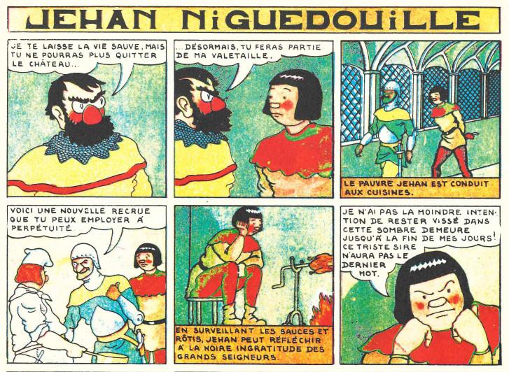 « Jean Niguedouille » par Al Peclers.
