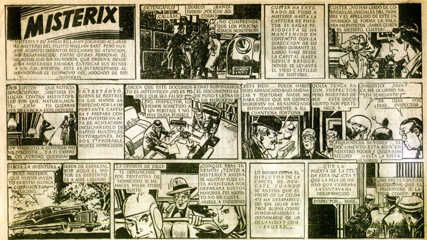 « Misterix » par Paul Campani et Max Massimino Garnier.