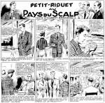 « Petit-Riquet reporter » par Gaston Niezab et Albert Bonneau.
