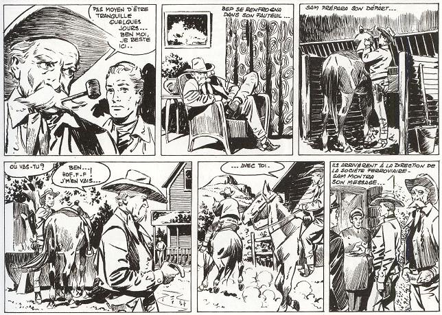 « Sam Billie Bill » par Lucien Nortier, Roger Lécureux et Jean Ollivier.