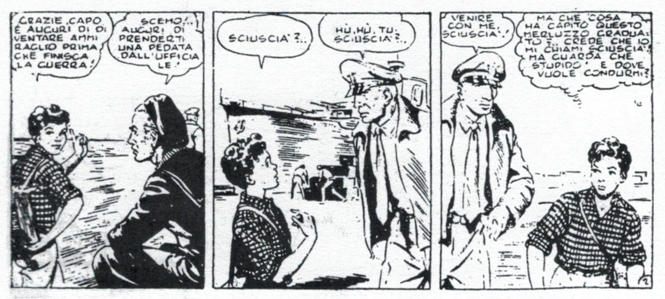 « Sciuscià » par Giorgio Curreli et Tristano Torelli.