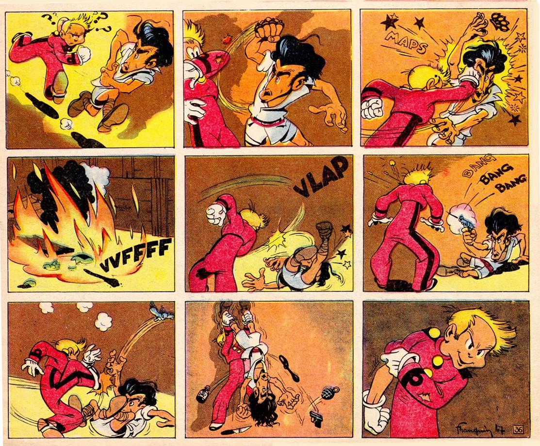 « Spirou et Fantasio » par André Franquin.