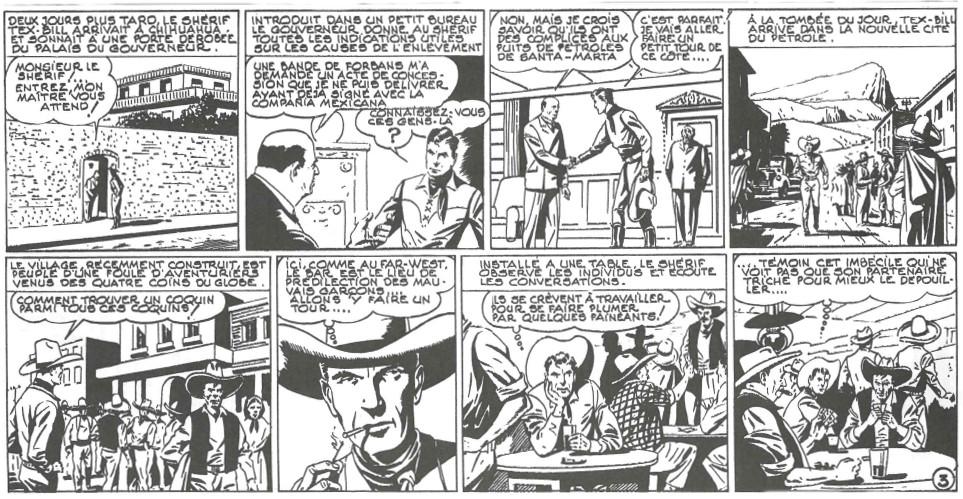 « Tex Bill le shériff » par Roger Melliès.