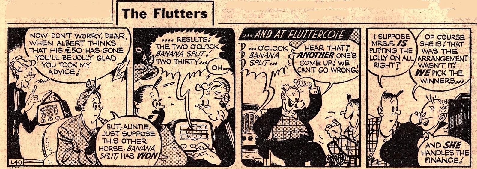 « The Flutters » par Leonard Gamblin et Jack Hargreaves.