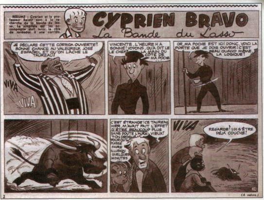 « Cyprien Bravo » par Tenas, Rali et André-Paul Duchâteau.