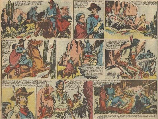 « Sitting Bull » par Dut et Marijac.