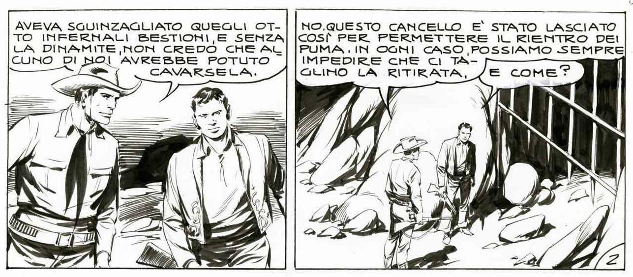 « Tex Willer » par Galep et Guido Nolitta.
