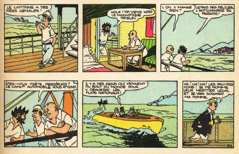 « Tif et Tondu » par Will et Fernand Dineur.