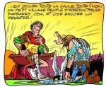 """Le vaincu du """"Domaine des Dieux"""" (Astérix® - Obélix® - Idéfix® / © 2019 Les Éditions Albert René / Goscinny – Uderzo)"""