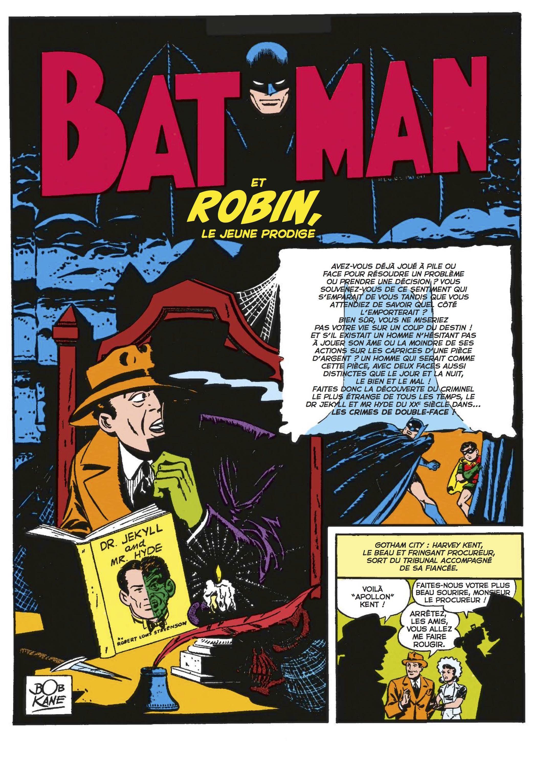 Batman 80 ans Robin