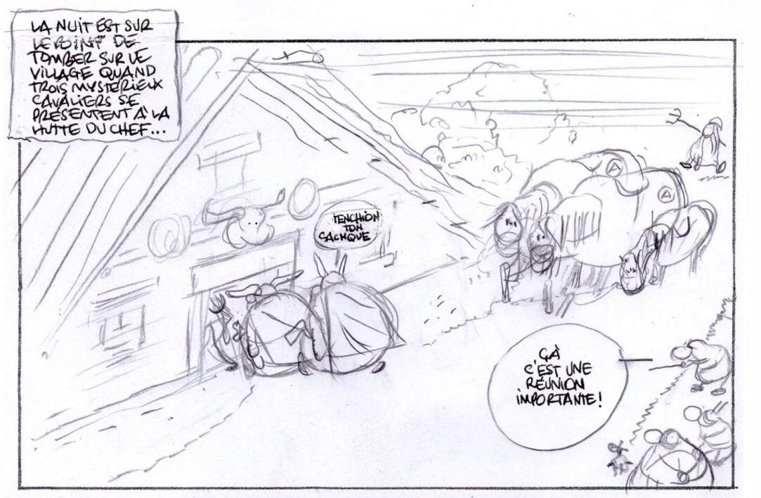 La première case storyboardée dévoilée, encore intrigante...
