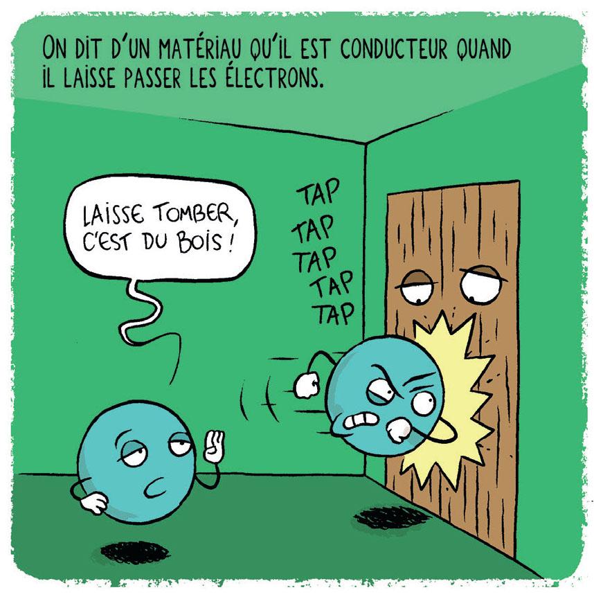 Des autoroutes pour les électrons - Maël Pontoreau