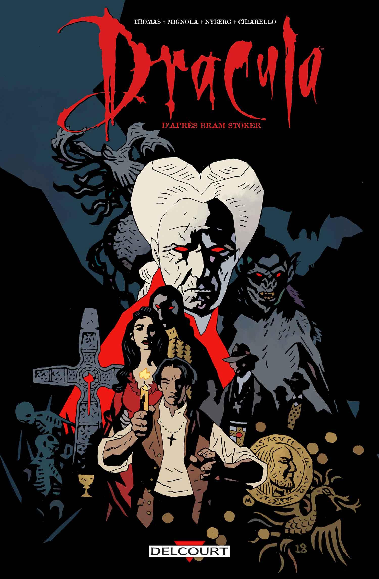 Dracula par Mignola, d'après Coppola : une réédition, après 26 ans d'absence !