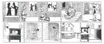 Une page signée Stuart Carothers dans « Les Drôles d'Histoires de Charlot ».