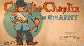 Charlie Chaplin in the army