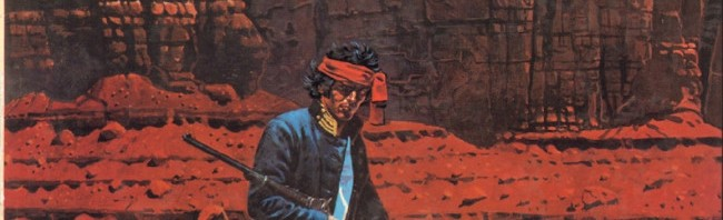 """Solide comme un roc ? (couverture de """"Nez cassé"""" - Dargaud 1980)"""