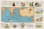 Les monts de la mythologie grecque