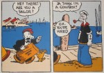 Première apparition de Popeye en janvier 1929.